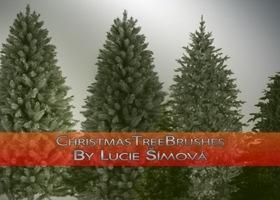 кисти новогодних деревьев