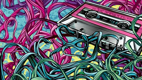 яркая кассета