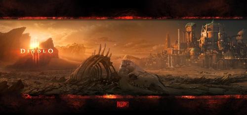 Изображение Diablo-3 для заставки на рабочий стол