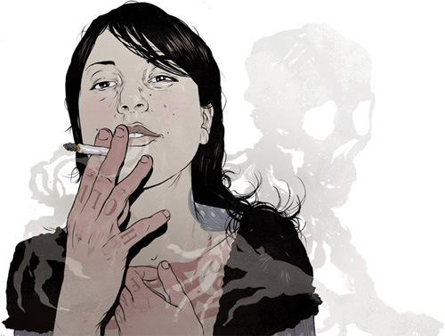смерть из дыма
