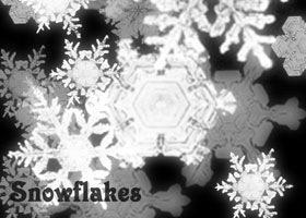 кисти-снежинки для фотошопа