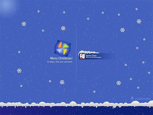 Новогодний логин - XP версия