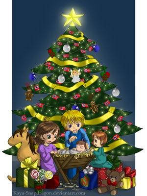 Первый рождественский подарок