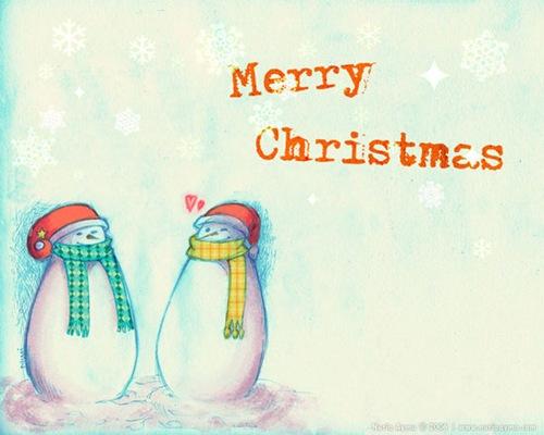 Любовь снеговиков