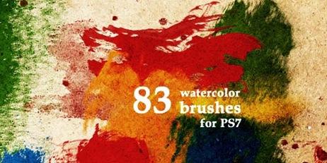 83 акварельные кисти