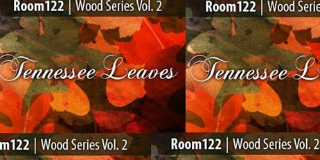 Кисти лесных листьев