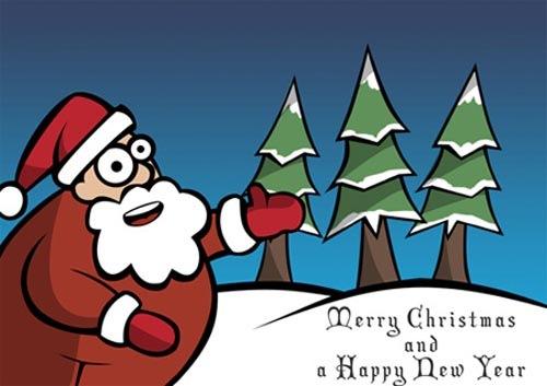 24 бесплатных новогодних туториала для фотошопа (англ.)