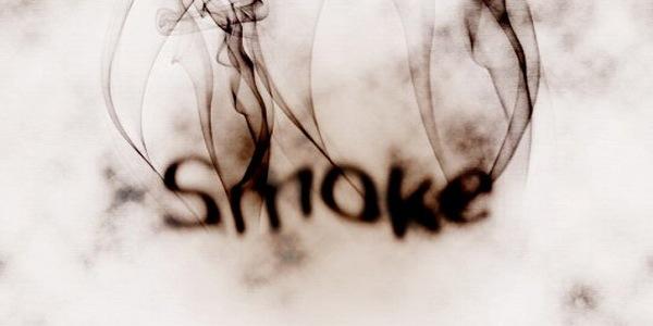 Создание дымящегося текста за 10 шагов в фотошопе
