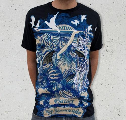дизайн на футболках