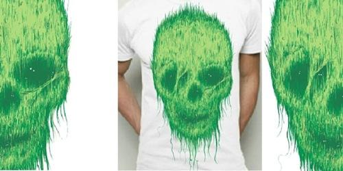 скелет из травы