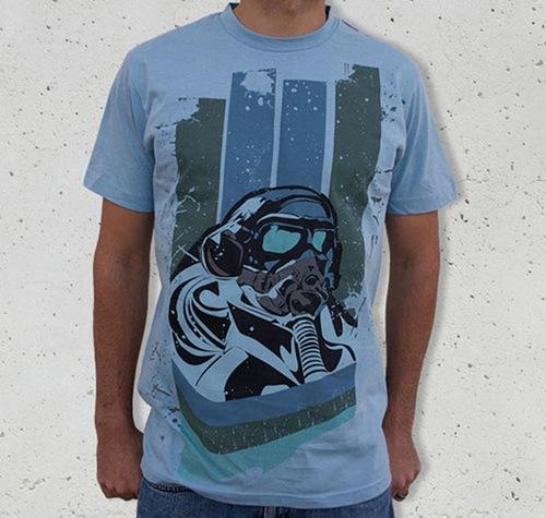 футболка в стиле гранж