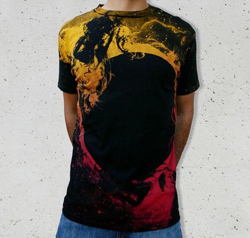 футболки иллюстрированные дизайнерами