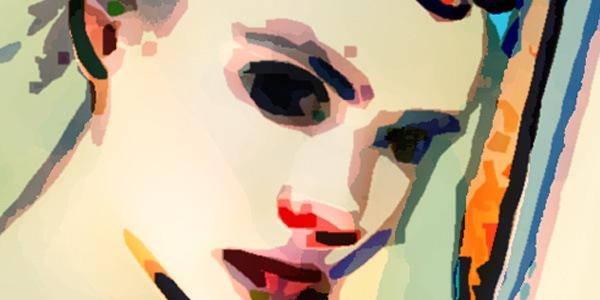 Создайте рисунок в стиле модерн из фото