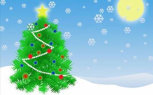 60 красивых новогодних туториалов для фотошопа