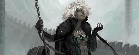 Зимняя женщина