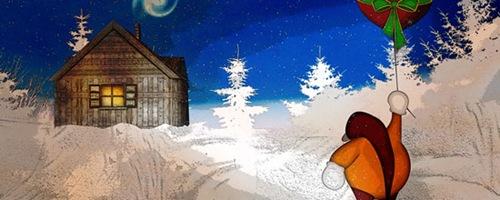 доставка подарков зимой
