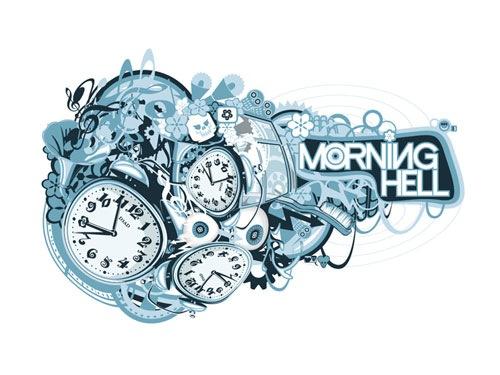 адские часы