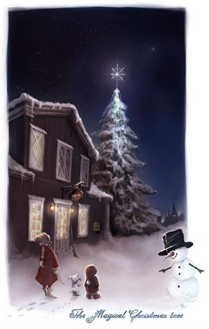 Магическая новогодняя ёлка