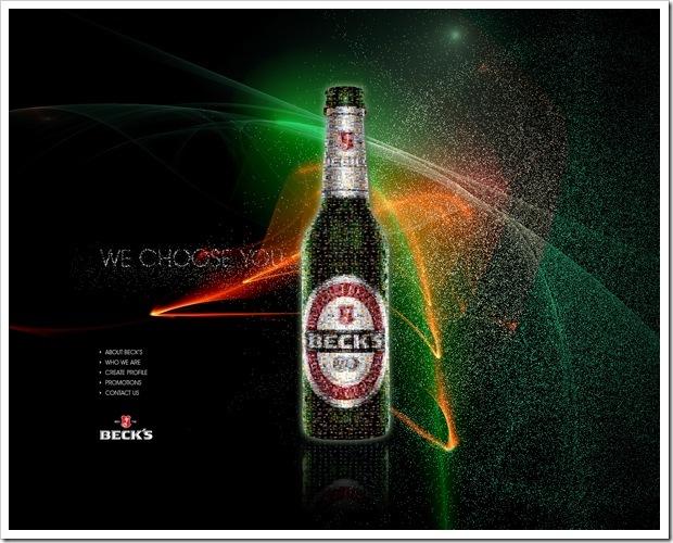 рекламный дизайн для Бекс