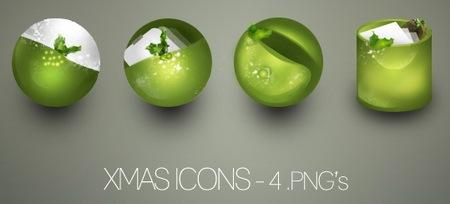 Ещё рождественские иконки
