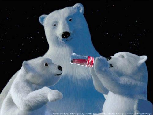 белые медведи на рабочий стол