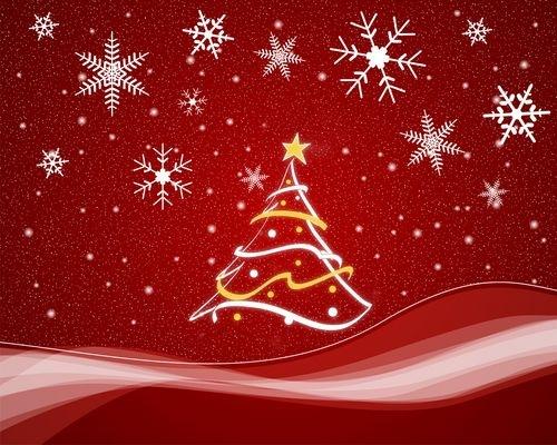 яркая иллюстрация новогоднего праздника