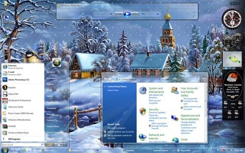 скачать бесплатно тема для Windows Vista