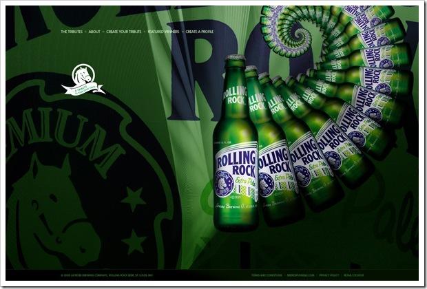 креативнй дизайн для пива