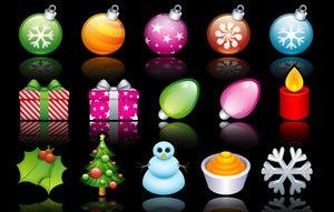 иконки Рождество XP