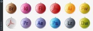 Adobe CS3 иконки - xMas стиль