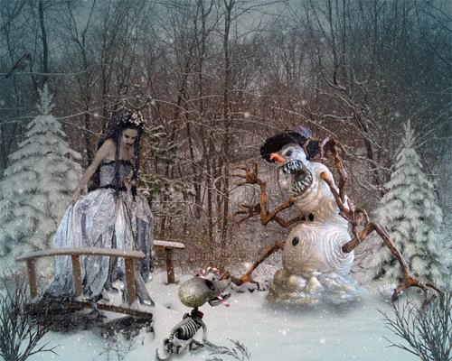 Хозяйка зимы и компания