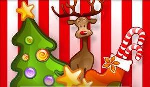 Рождественские иконки для документов