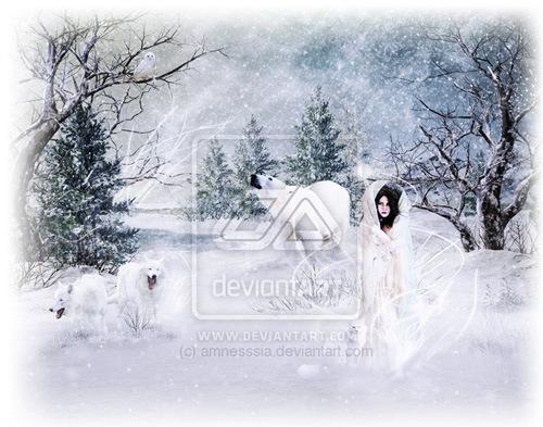 Мисс зима
