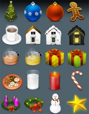 иконки Настоящая рождественская '05 перезагрузка