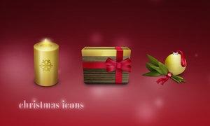 Рождественские иконки 2007