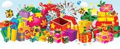 изображения подарков в векторе