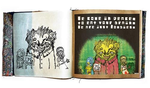иллюстрация зомби