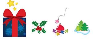 Рождественские объекты