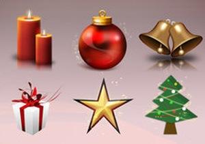 Новогодние иконки для документов