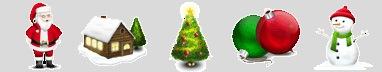 Бесплатные новогодние иконки VISTA