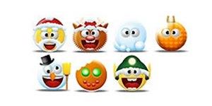 Новогодние иконки монстры