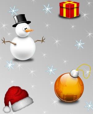 Рождественская подборка иконок