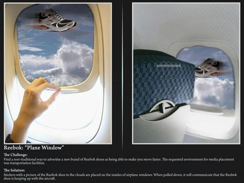 "Reebok ""Окно самолета"""