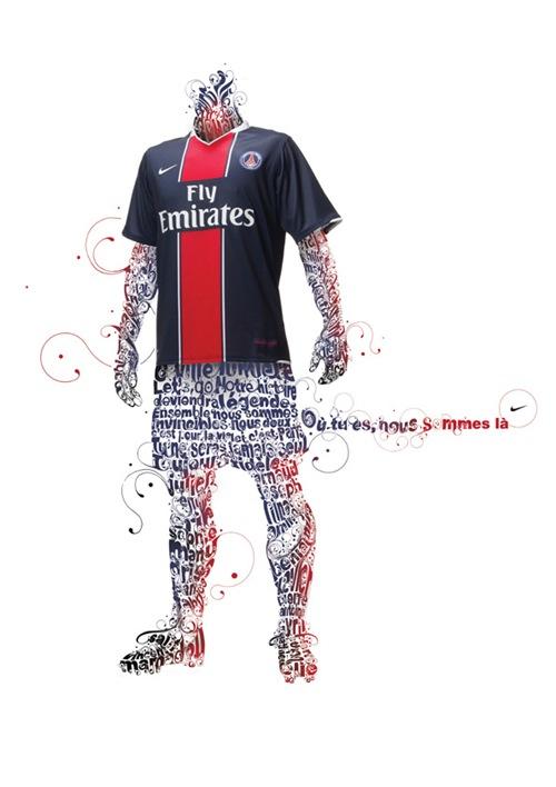 Рекламная компания  Nike Париж