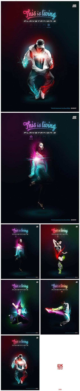 Рекламные постеры к  Sony Playstation 3