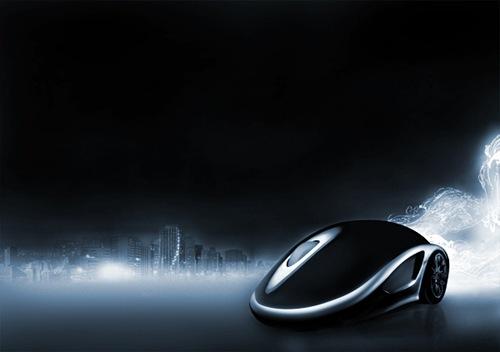 Рекламный постер - Megalan Speed Mouse