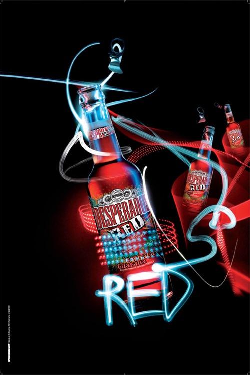 Постер созданный для пива Desperados