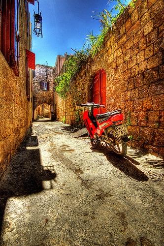 улицы Греции в ХДР