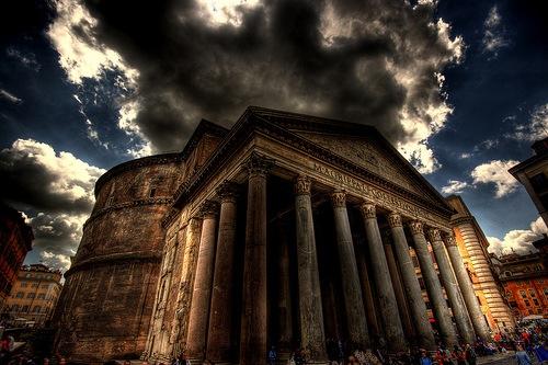 Пантеон в хдр