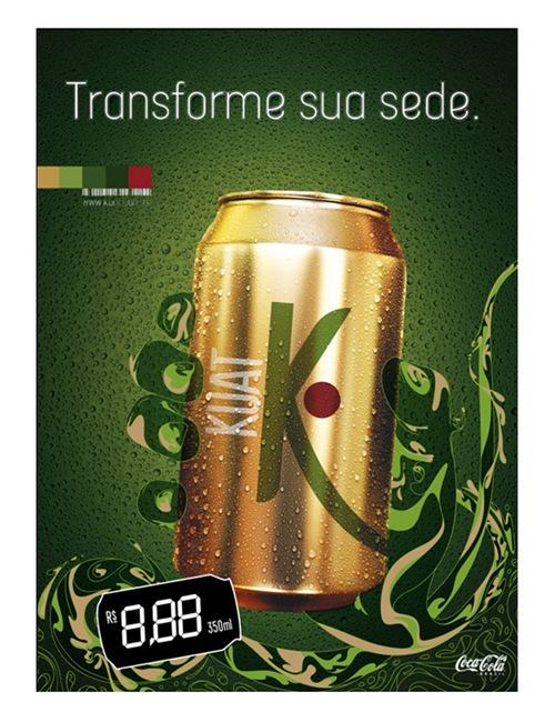 Напиток с содержанием гуараны KUAT